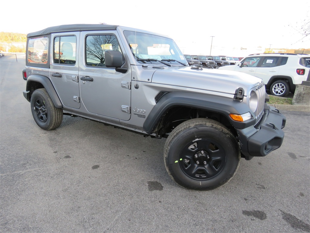 Jeep Wrangler Unlimited Sport >> New 2020 Jeep Wrangler Unlimited Sport 4x4