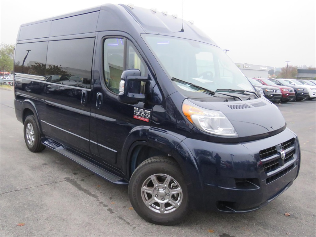 Dodge Ram Promaster >> New 2018 Ram Promaster 1500 Cargo Van High Roof 136 Wb